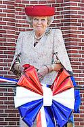 Prinses Beatrix der Nederlanden opent woensdag 20 april het Roosevelt Informatiecentrum in Oud-Vosse