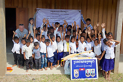 Group Photo At Rural School With Bill Morse