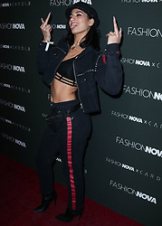 HOLLYWOOD, LOS ANGELES, CA, USA - NOVEMBER 14: Fashion Nova x Cardi B Collaboration Launch Event held at Boulevard3 on November 14, 2018 in Hollywood, Los Angeles, California, United States. 14 Nov 2018 Pictured: Lexy Panterra. Photo credit: Xavier Collin/Image Press Agency/MEGA TheMegaAgency.com +1 888 505 6342