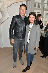 KATIE MELUA and JAMES TOSELAND at a party to celebrate the launch of the new Stephen Webster Salon at 130 Mount Street, London on 18th May 2016.