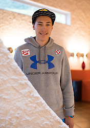 23.05.2016, Hotel Ambach, Kaltern, AUT, OeSV, Nordische Kombination, Trainingslager, im Bild Mario Seidl (AUT) // Mario Seidl of Austria during a Photocell of Austrian Ski federation Nordic Combined Team at the Hotel Ambach, Kaltern, Italy on 2015/05/23. EXPA Pictures © 2016, PhotoCredit: EXPA/ Johann Groder