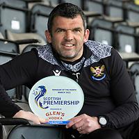 Callum Davidson Manager of the Month Award