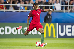June 20, 2017 - Gdynia, Poland - Ruben Semedo of Portugal controls the ball during the UEFA European Under-21 Championship 2017  Group B match between Portugal and Spain at Gdynia Stadium in Gdynia, Poland on June 20, 2017  (Credit Image: © Andrew Surma/NurPhoto via ZUMA Press)