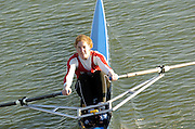 2005 FISA Team Cup, Rio Guadalquiver Rowing Course, Seville, SPAIN; GBR W1X Katrin Rutschaow-Stomporoski..Photo  Peter Spurrier. .email images@intersport-images...