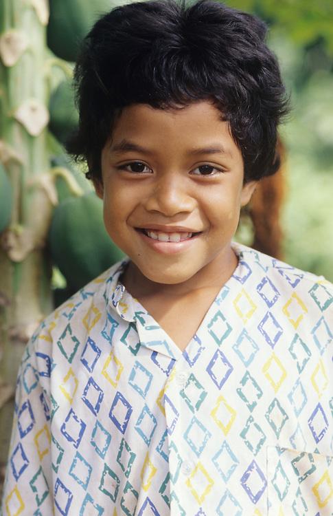 Thurgow Yad, Native children, Yap, Wa`ab, Waqab, Federated States of Micronesia, islands in the Caroline Islands