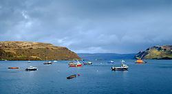 The harbour, Portree, Isle of Skye, Scotland<br /> <br /> (c) Andrew Wilson | Edinburgh Elite media