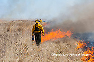 63863-02811 Prescribed Burn by IDNR Prairie Ridge State Natural Area Marion Co. IL