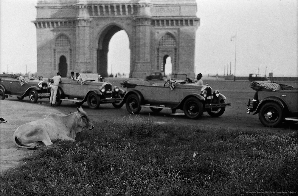 Apollo Bunder, Bombay, India, 1929