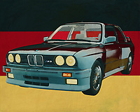 The 1991 BMW E-30 M3 is a not so old car compared to the other cars I paint, but the BMW M3 does belong in the list of classic cars. Pure power in an angular design. The BMW is actually made for the race track and when you get on the track with such a BMW M3 you trump the other sports cars.<br />