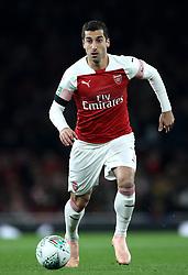 Arsenal's Henrikh Mkhitaryan