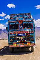 Fotula Pass (Highest point on the Srinagar Leh Highway), National Highway 1, Ladakh, Jammu and Kashmir State, India.