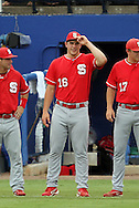 09 June 2012: NC State's Carlos Rodon. The University of Florida Gators defeated the North Carolina State University Wolfpack 7-1 at Alfred A. McKethan Stadum in Gainesville, Florida in Game 1 of their NCAA College Baseball Super Regional series.