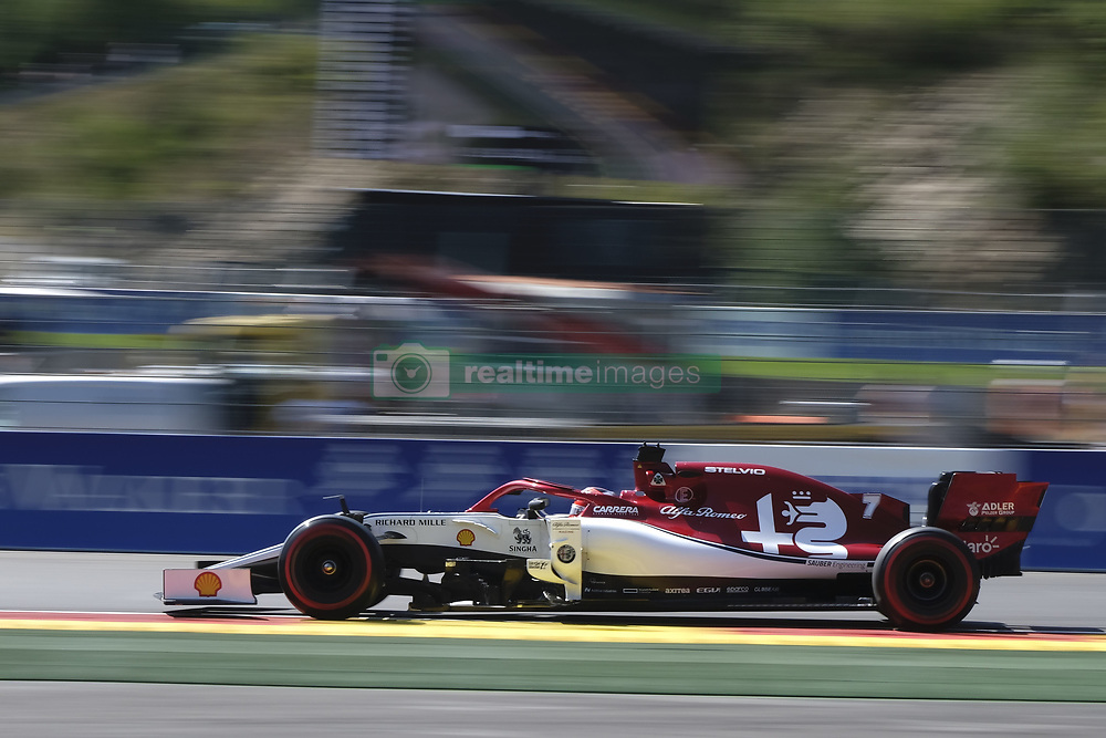 August 31, 2019, Spa Francorchamps, Belgium: Sauber Driver KIMI RAIKKONEN (FIN)in action during the third free practice session of the Formula one Johnnie Walker Belgian Grand Prix at the SPA Francorchamps circuit - Belgium (Credit Image: © Pierre Stevenin/ZUMA Wire)
