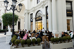 L'Eto cafe in The Avenues shopping mall in Kuwait City, Kuwait, Middle East