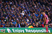 Rugby Union - 2017 / 2018 European Rugby Champions Cup - Pool Three: Leinster vs. Exeter Chiefs<br /> <br /> Exeter's Gareth Steenson lines up a conversion, at Aviva Stadium, Dublin.<br /> <br /> COLORSPORT/KEN SUTTON