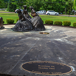 Sculpture of The Birthplace of Memorial Day