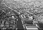 Aerial View of Dublin.06/11/1963 Photos, Photo, Snap, Streets, Street,