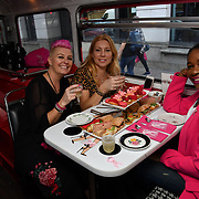 Brigits Bakery host their Pink Ribbon Afternoon Tea in aid of the Pink Ribbon Foundation, London, UK. 16 October 2018.