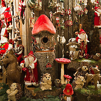 TREVISO, ITALY - DECEMBER 06:  Christmas decorations are seen outside a shop on December 6, 2011 in Treviso, Italy. Christmas Markets are popular in Northern Italian cities, selling festive items including lights, nativity scenes, decorations and local festive handicrafts. In most cities they will run from the end of November to January 6th. HOW TO LICENCE THIS PICTURE: please contact us via e-mail at sales@xianpix.com or call our offices in London   +44 (0)207 1939846 for prices and terms of copyright. First Use Only ,Editorial Use Only, All repros payable, No Archiving.© MARCO SECCHI