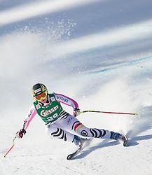 12.01.2013, Karl Schranz Abfahrt, St. Anton, AUT, FIS Weltcup Ski Alpin, Abfahrt, Damen im Bild Gina Stechert (GER) // Gina Stechert of Germany in action during ladies Downhill of the FIS Ski Alpine World Cup at the Karl Schranz course, St. Anton, Austria on 2013/01/12. EXPA Pictures © 2013, PhotoCredit: EXPA/ Johann Groder