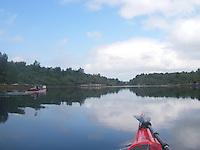 Kayaking Lurefjorden - kajakkpadler i Lurefjorden
