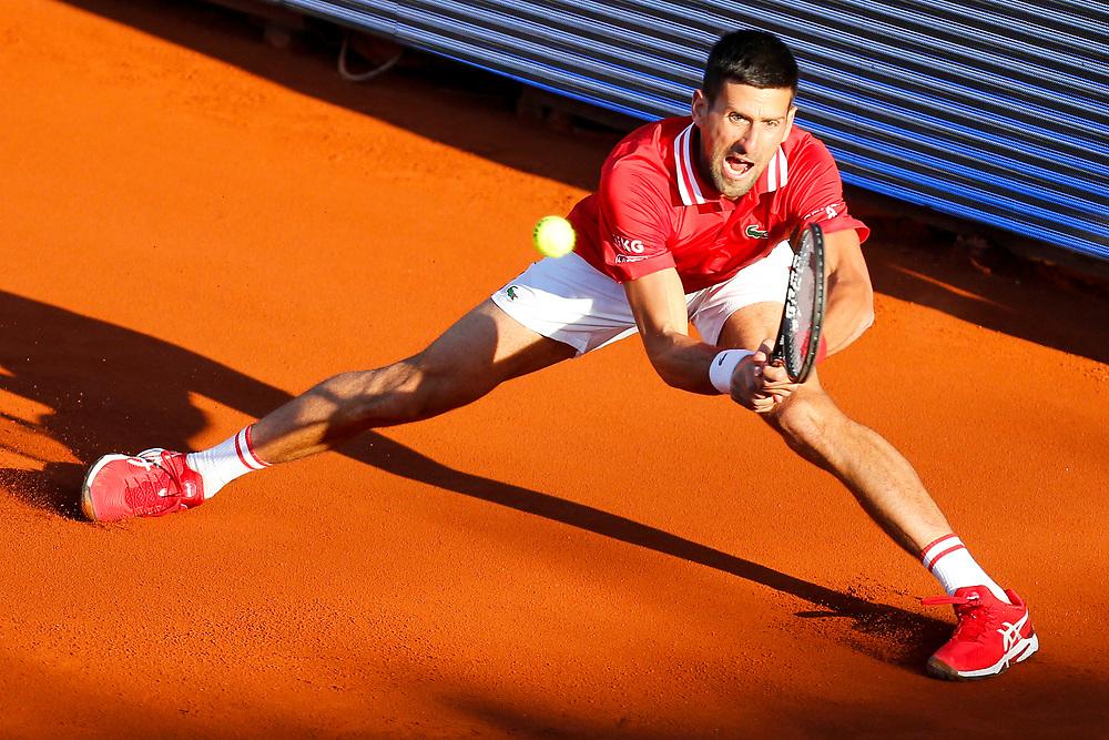 Tennis-ATP Serbia Open Belgrade 2021-<br /> Novak Djokovic (SRB) v Aslan Karatsev (RUS)<br /> Beograd, 24.04.2021.foto: Marko Djokovic/Starsportphoto ©