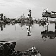 Across Water panorama, 1987
