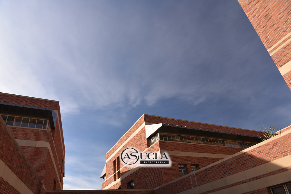 ASUCLA Photography Archive-  Exterior image of UCLA Anderson School of Management, University of California , Los Angeles, California.<br /> Copyright: ASUCLA