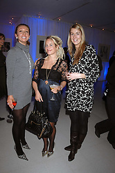 Left to right, JOSIE GOODBODY, TAMSIN LONSDALE and  TALIA PAGET attending the Tag Heuer party where an exhibition of photographs by Mary McCartney celebrating 15 exception women from 15 countries was unveiled at the Royal College of Arts, Kensington Gore, London on 8th February 2007.<br /><br />NON EXCLUSIVE - WORLD RIGHTS
