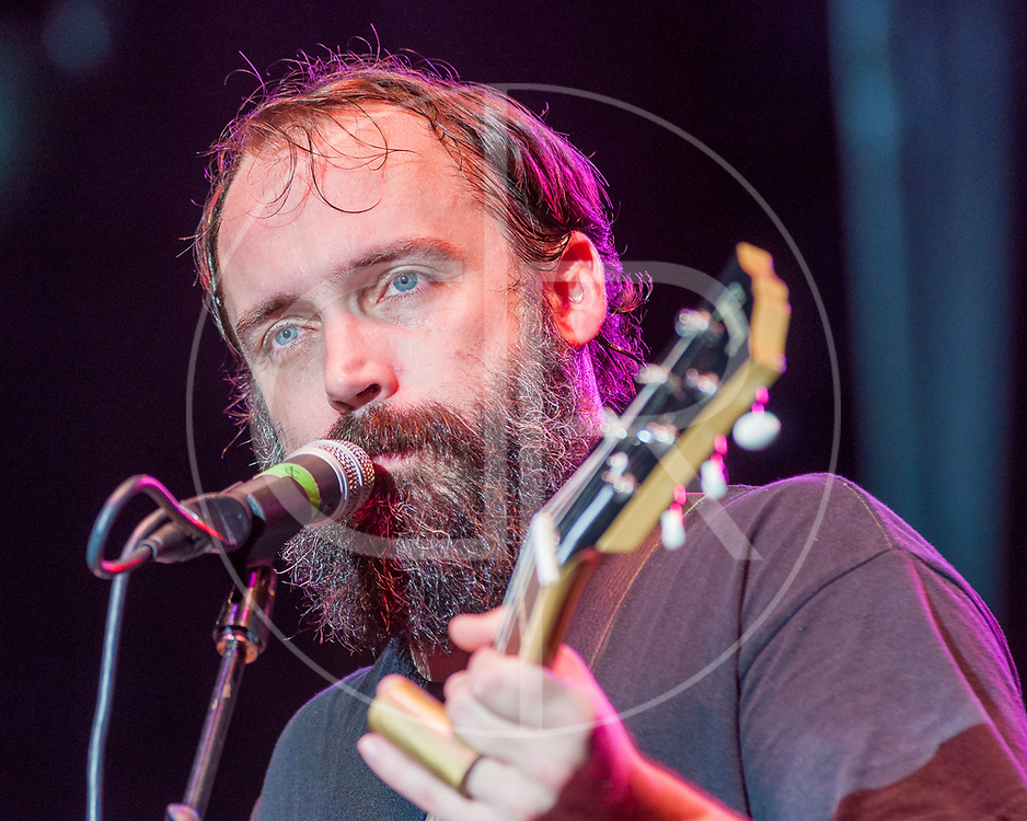 BALTIMORE United States - July 21, 2012: Clutch frontman Neil Fallon performs on the Wells Fargo Stage at Artscape, located in Baltimore's Mount Royal Cultural Corridor