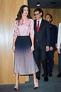 Queen Letizia of Spain attends he Rare Disease Day 2020 at BBVA Headquarters on March 5, 2020 in Madrid, Spain