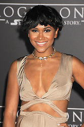 December 10, 2016 - Los Angeles, California, United States - December 10th 2016 - Los Angeles California USA - Actress MAYA WASHINGTON   at the World Premiere for ''Rogue One Star Wars'' held at the Pantages Theater, Hollywood, Los Angeles  CA (Credit Image: © Paul Fenton via ZUMA Wire)