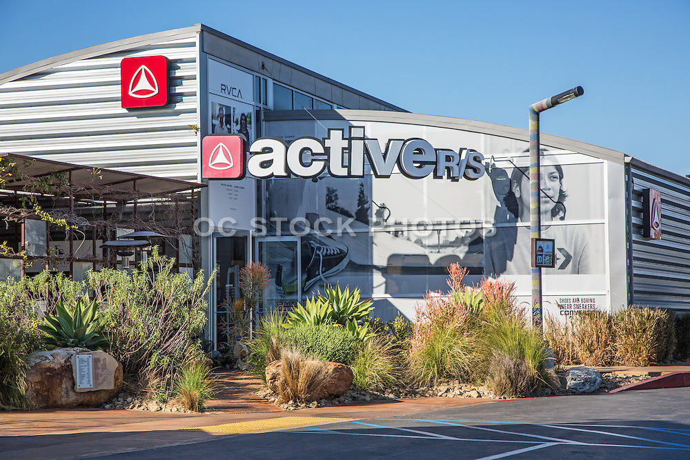 Active Retail Store at the Camp in Costa Mesa