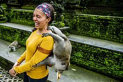 The Sacred Monkey forest in Ubud, Indonesia on February 8, 2018, where more 5000 monkeys live. Photo by Robin Utrecht/ABACAPRESS.COM