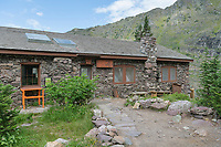 Sperry Chalet  cookhouse, Glacier National Park