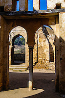 Chellah or Sala Colonia is a complex of ancient Roman and medieval ruins at Rabat, Morocco.
