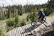 SHOT 8/5/17 11:19:29 AM - Photos while riding Brian Head Resort in Brian Head, Utah with Vesta Lingvyte of Denver, Co. Also includes images while riding the Thunder Mountain Trail in Southwestern Utah. (Photo by Marc Piscotty / © 2017)
