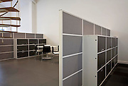 office interior partition and cupboard space