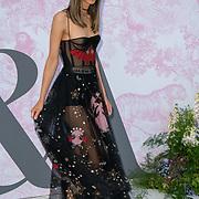 Isabella Charlotta arrives at V&A - summer party, on 19 June 2019, London, UK
