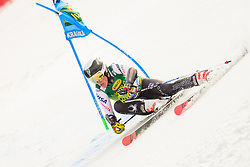 March 9, 2019 - Kranjska Gora, Kranjska Gora, Slovenia - River Radamus of United States of America in action during Audi FIS Ski World Cup Vitranc on March 8, 2019 in Kranjska Gora, Slovenia. (Credit Image: © Rok Rakun/Pacific Press via ZUMA Wire)
