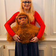 London, UK. 26th June 2017. Final touches made by Adele Morse, artist, taxidermist and RA School Alumni, for her immersive installation in Burlington Arcade as part pf Mayfair Art Weekend in partnership with the Royal Acdemy of Arts.