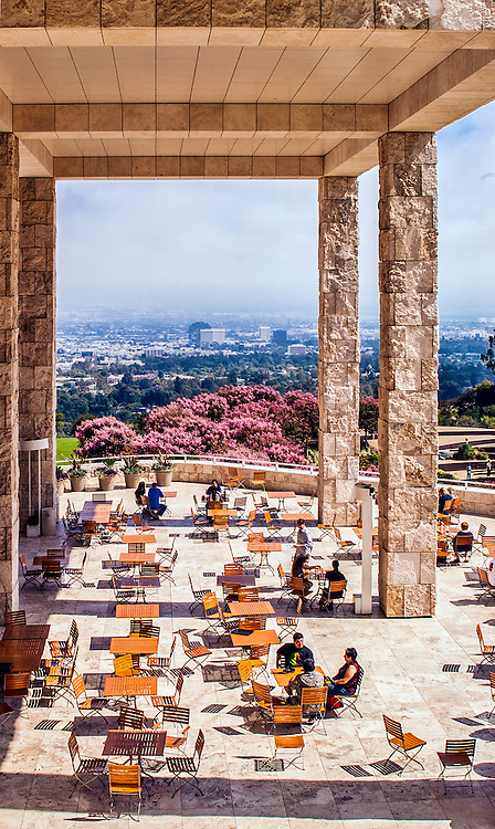 The Getty Museum in Los Angeles, California.