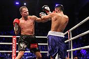 BOXEN: Friday Night Boxing, Hamburg, 15.10.2016<br /> Dimitrij Dima Weimer (GER) - Daniel Bazo (CZE)<br /> ©Torsten Helmke