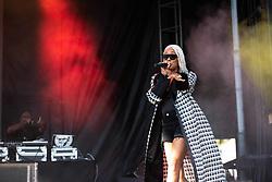September 9, 2018 - Monica (Monica Denise Brown) performing at One MusicFest in Atlanta, GA on 09 September 2018 (Credit Image: © RMV via ZUMA Press)