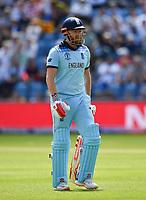 Cricket - 2019 ICC Cricket World Cup - Group Stage: England vs. Sri Lanka<br /> <br /> England's Jonny Bairstow dismissed first ball by Sri Lanka's Lasith Malinga, at Headingley, Leeds<br /> <br /> COLORSPORT/ASHLEY WESTERN