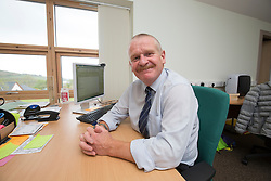 Keith Adams, headteacher at Lochaline Primary School. Lochaline Retained Fire Crew jobs feature.