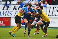 Remi Lamerat - 03.01.2015 - Castres / La Rochelle - 15eme journee de Top 14 - <br />Photo : Laurent Frezouls / Icon Sport