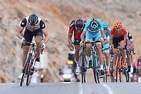 Arrival Sprint, BOASSON HAGEN Edvald (NOR) Dimension Data, NIBALI Vincenzo (ITA) Astana, VAN AVERMAET Greg (BEL) BMC, during the 7th Tour of Oman 2016, Stage 2, Omantel Head Office - Quriyat 250m (162Km), on February 17, 2016 - Photo Tim de Waele / DPPI
