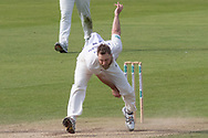 Nathan Rimmington bowling during the Specsavers County Champ Div 2 match between Durham County Cricket Club and Leicestershire County Cricket Club at the Emirates Durham ICG Ground, Chester-le-Street, United Kingdom on 19 August 2019.