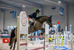 Tijskens Laure, BEL, Welco van Farasohof<br /> Nationaal Indoorkampioenschap  <br /> Oud-Heverlee 2020<br /> © Hippo Foto - Dirk Caremans